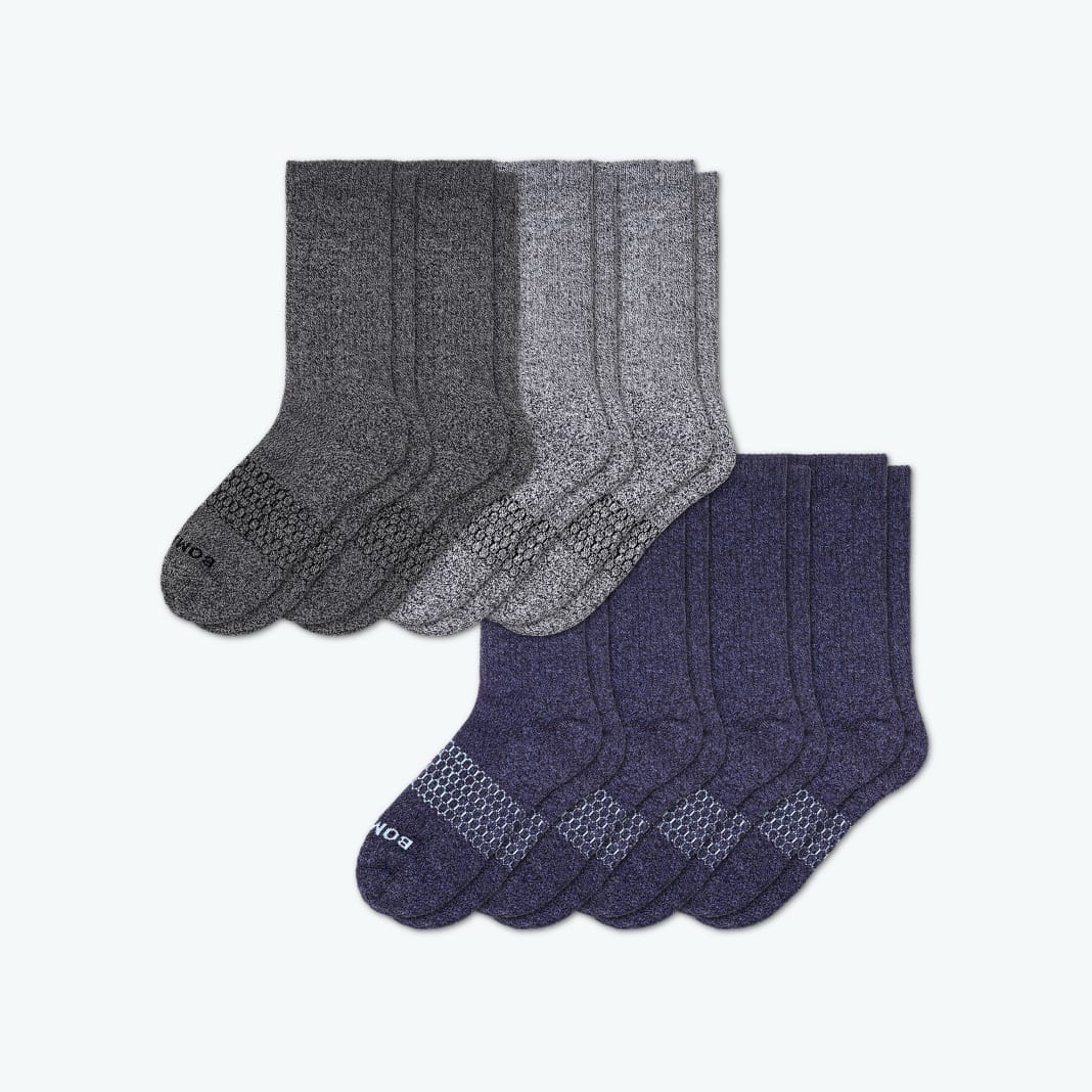 Bombas Marls Classic 8-Pack Socks
