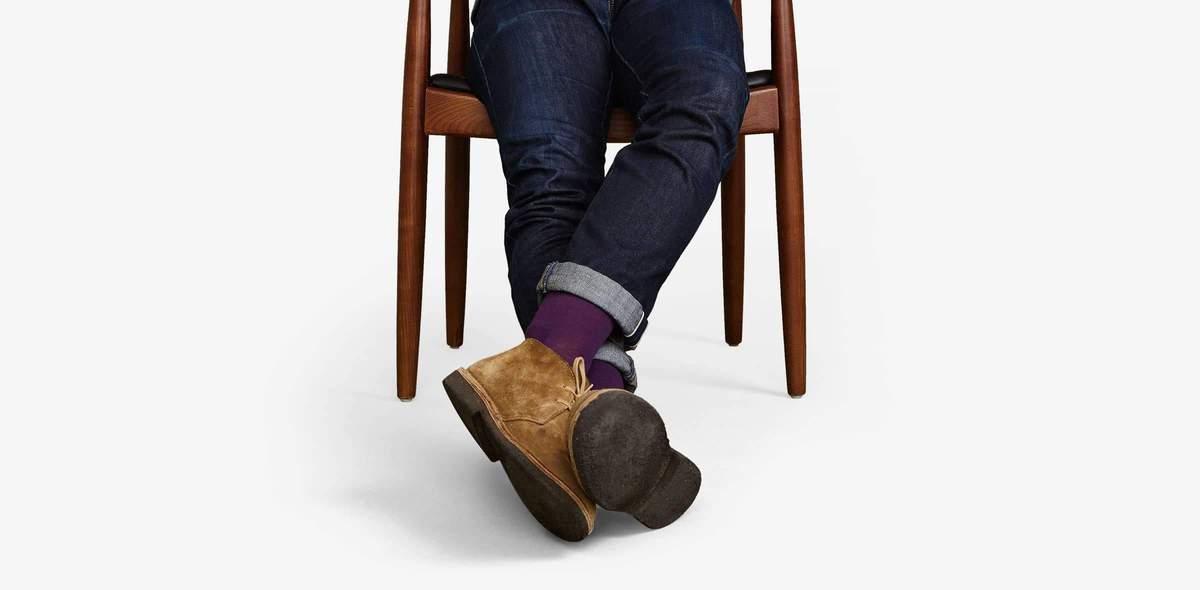 Men's Dress Solid Sock 4-Pack