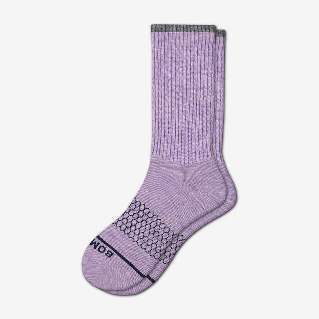 aster-purple Women's Merino Wool Calf Socks