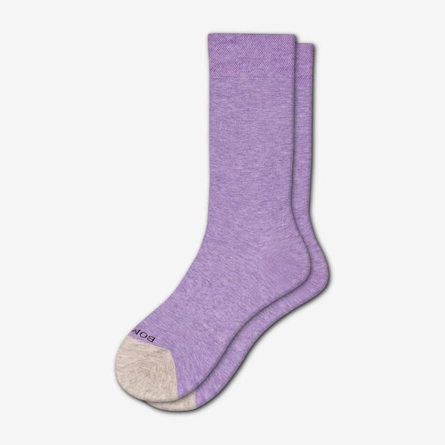 aster-purple Women's Lightweight Crew Sock