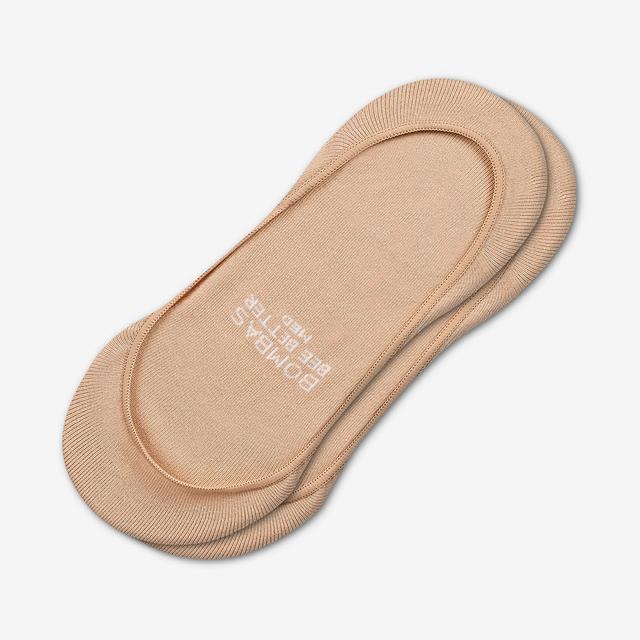 beige Women's Low-Cut No Show Socks