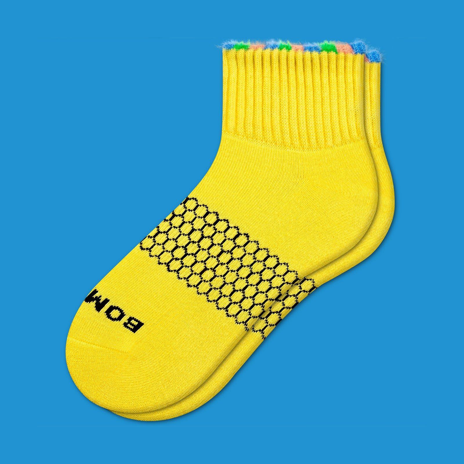 Sesame Street Fuzzy Bert Socks by Bombas