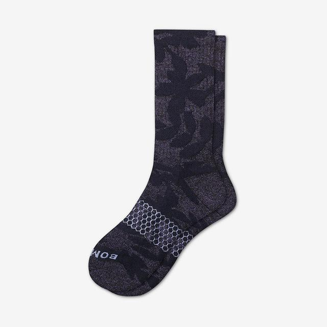 black-denim Men's Wild Wear Calf Socks