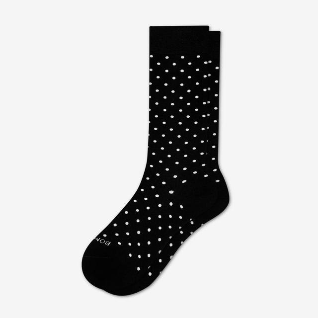 black-dot Women's Lightweight Crew Sock