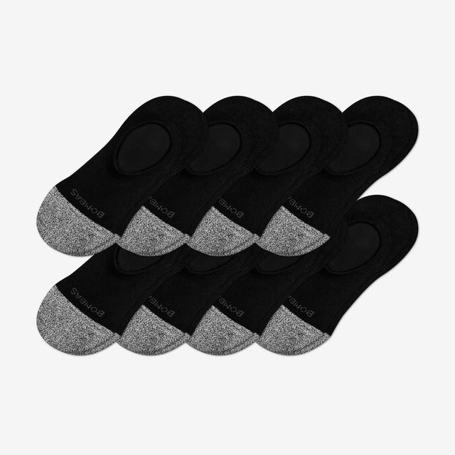 black Women's Cushioned No Shows 8-Pack