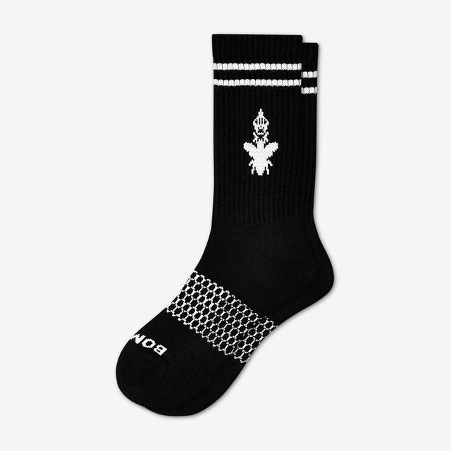 black Men's Originals Calf Sock