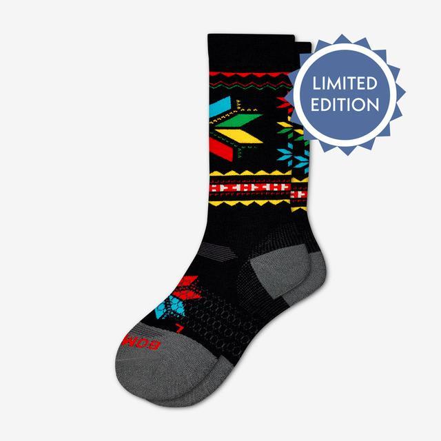 black Men's Hannah Teter x Bombas Socks