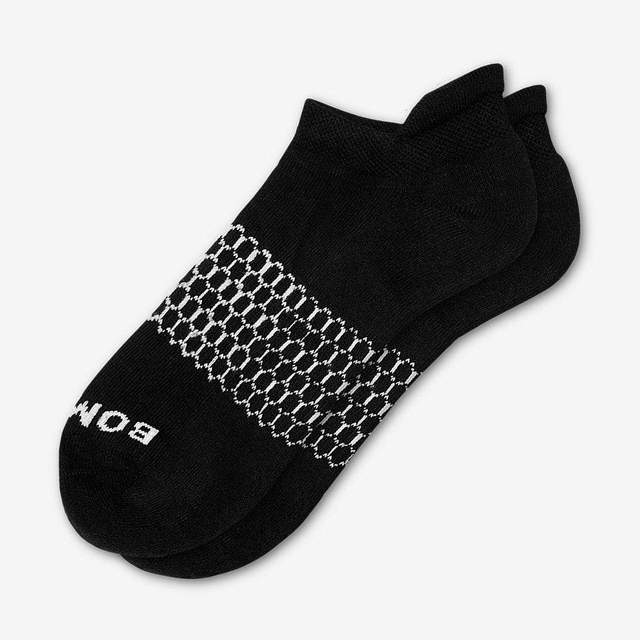 black Men's Solids Ankle Socks