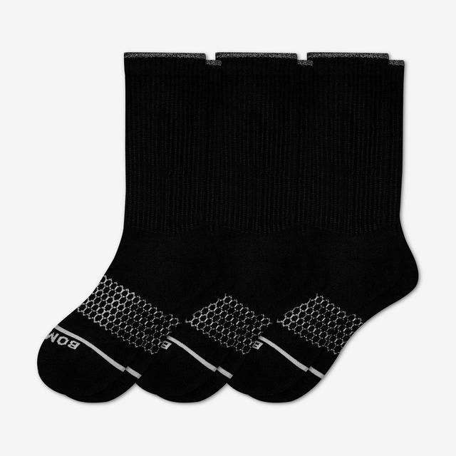 black Women's Merino Wool Sock 3-Pack