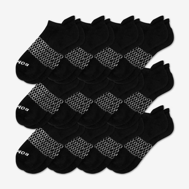 black Women's All-Ankle Sock 12-Pack