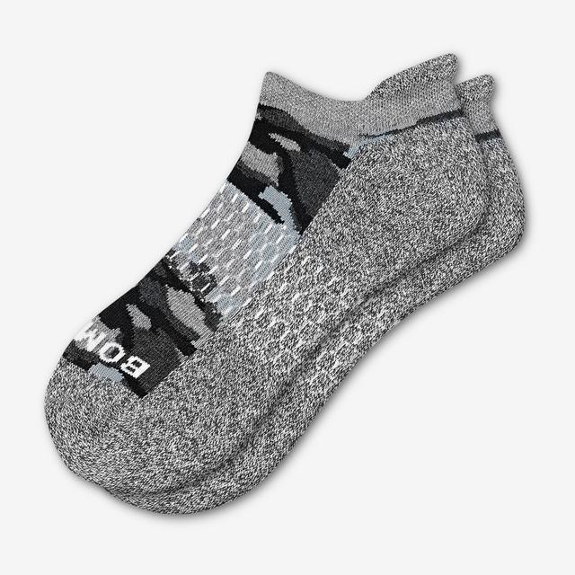 black Women's Camo Ankle Socks