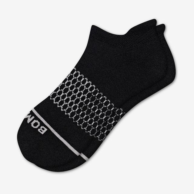black Men's Merino Wool Ankle Socks