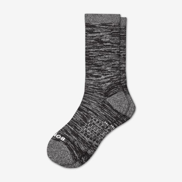 black Men's Hiking Socks