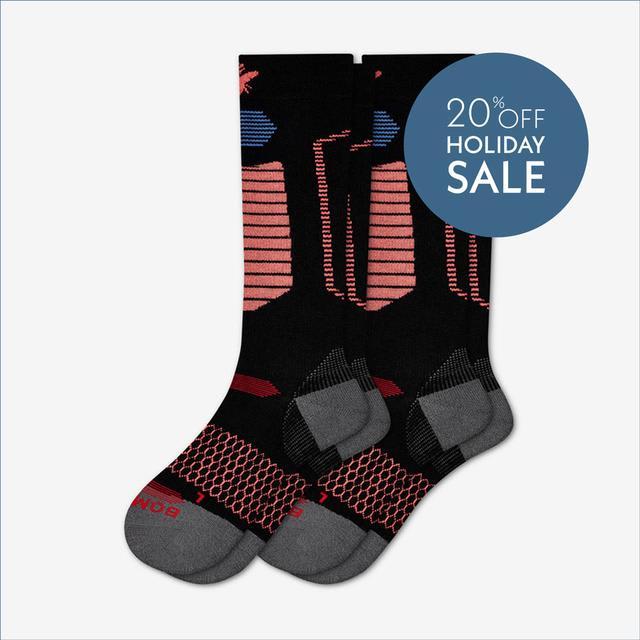 black-melon Men's Performance Ski & Snowboard Socks 2-Pack