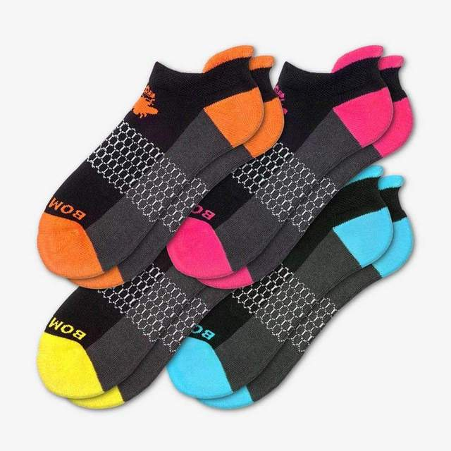 black-mixed Women's Originals Ankle Sock 4-Pack