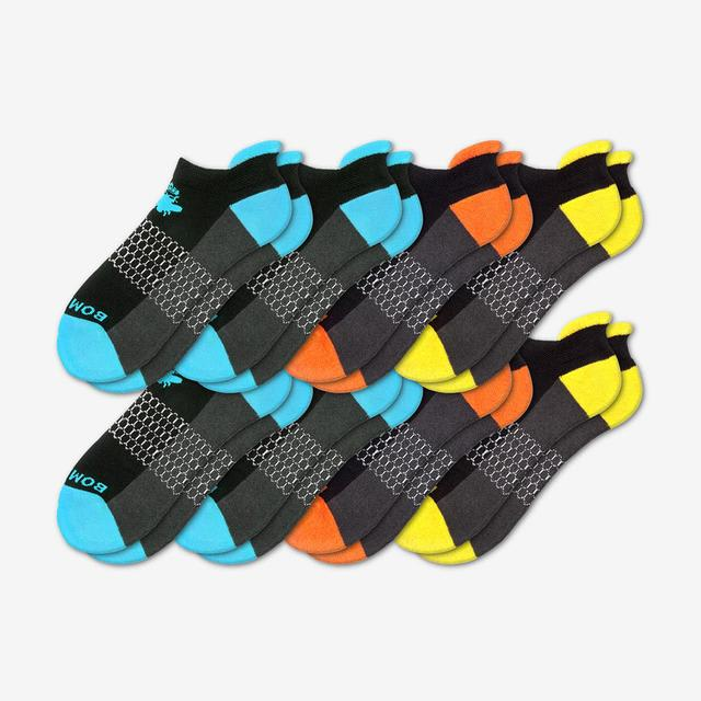 black-mixed Men's Originals Ankle Sock 8-Pack