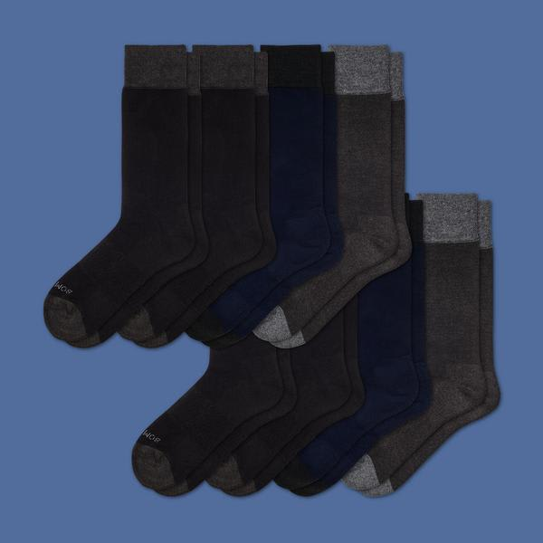 1fd03e5a1f08 Men's Dress Over the Calf Sock 8-Pack – Bombas