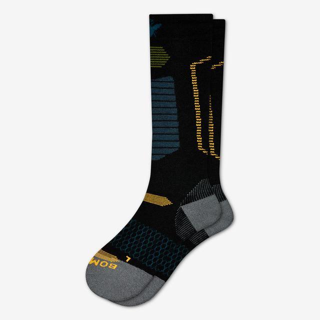 black-sapphire Men's Performance Ski & Snowboard Socks