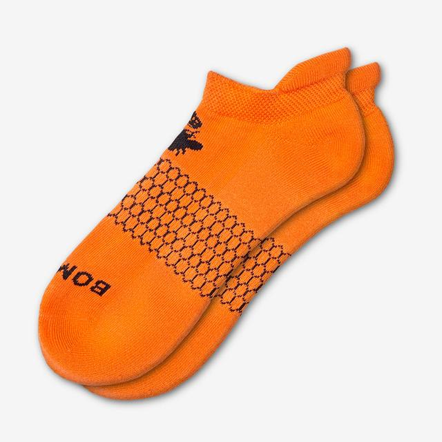 blaze-orange Men's Solids Ankle