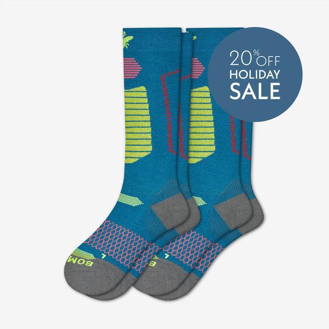 blue-citron Men's Performance Ski & Snowboard Socks 2-Pack