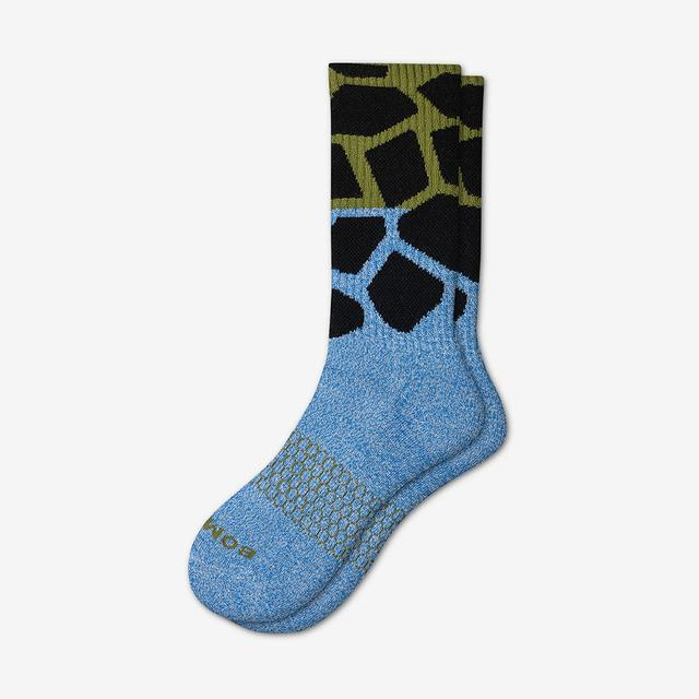blue-green Men's Wild Wear Calf Socks