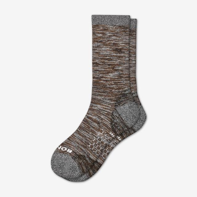 brown Men's Hiking Socks
