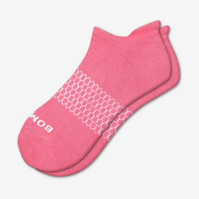 bubble-gum Women's Solids Ankle Socks
