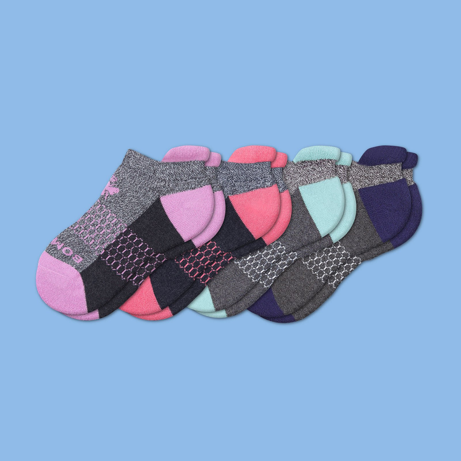 Youth Originals Ankle Sock 4 Pack by Bombas