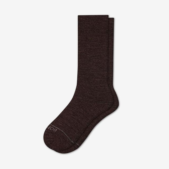 chocolate Men's Merino Dress Sock