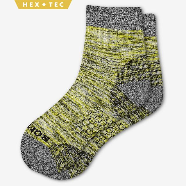 citron Men's Hiking Quarter Socks