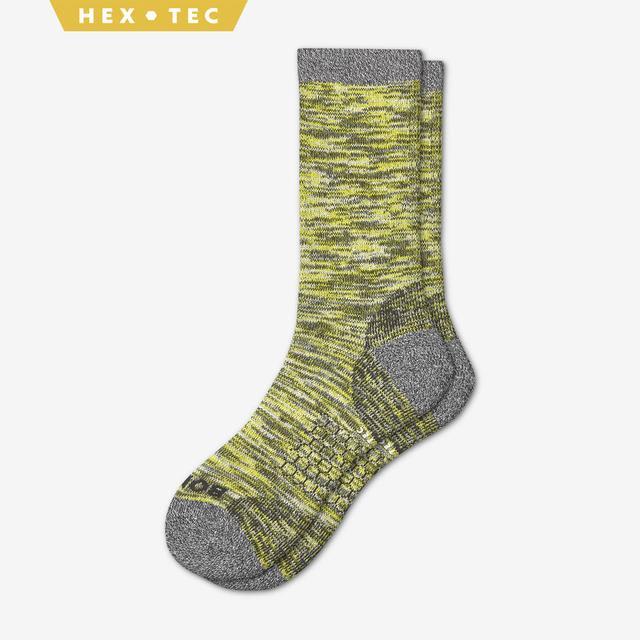 citron Men's Hiking Calf Socks