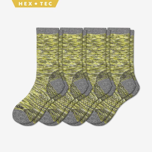 citron Men's Hiking Sock Calf 4-Pack