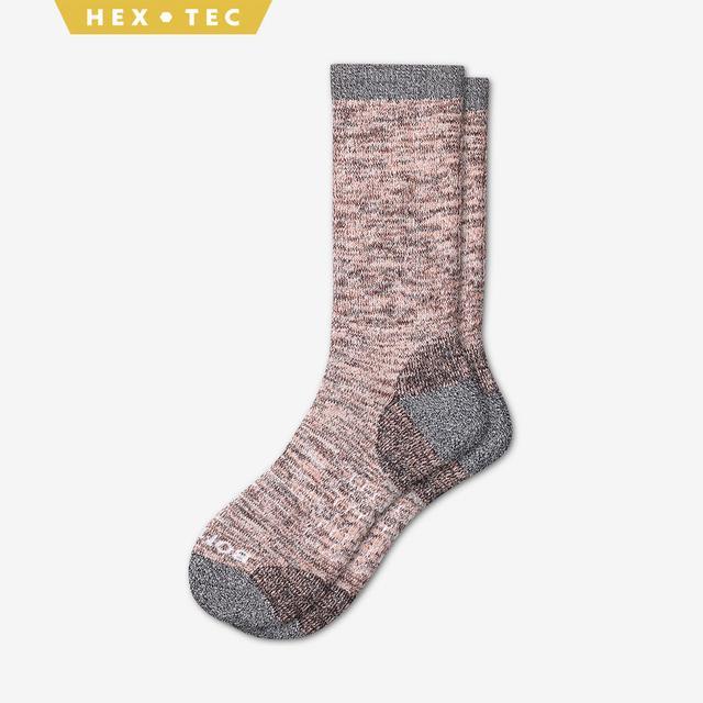 coral Women's Hiking Calf Socks