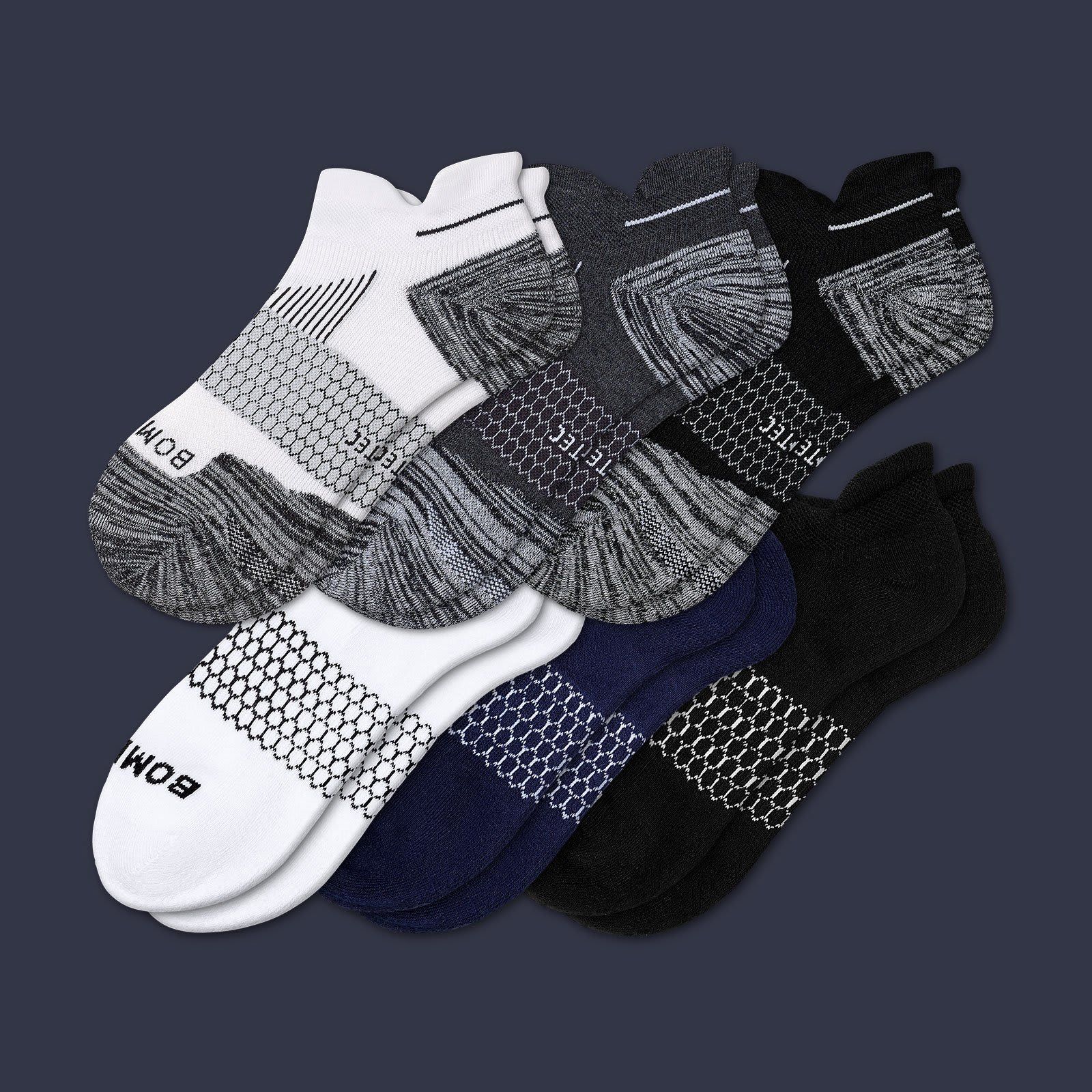 Women's Desk To Gym Ankle Sock 6 Pack by Bombas
