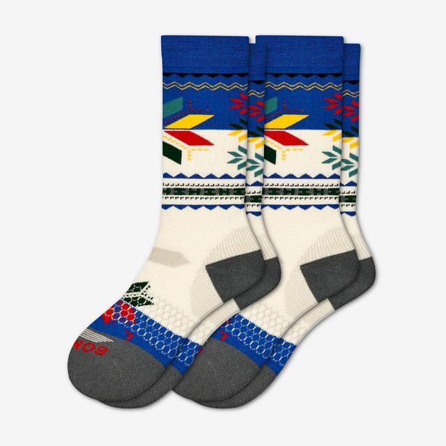 cream-blue Men's Hannah Teter x Bombas Socks 2-Pack