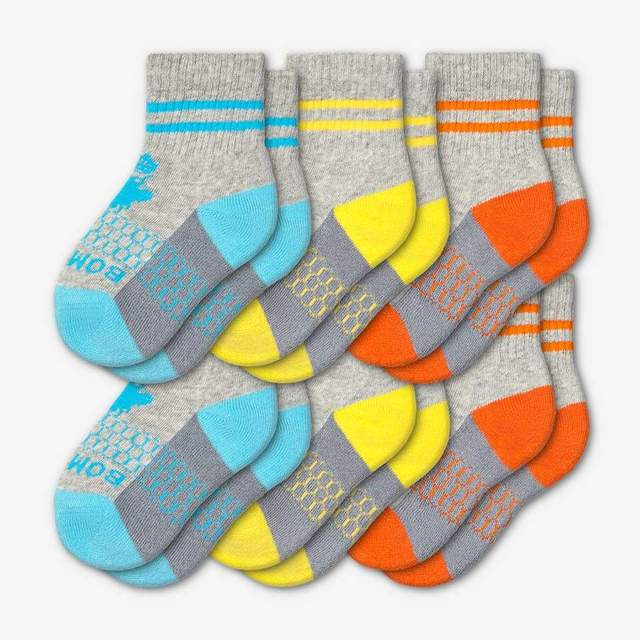 cyan-yellow-orange Toddler 6-Pack