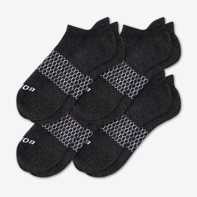 dark-charcoal-heather Women's Solids Ankle Sock 4-Pack