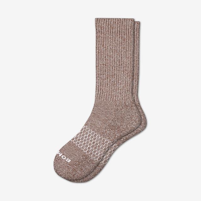 desert-palm Men's Classic Marls Calf Sock