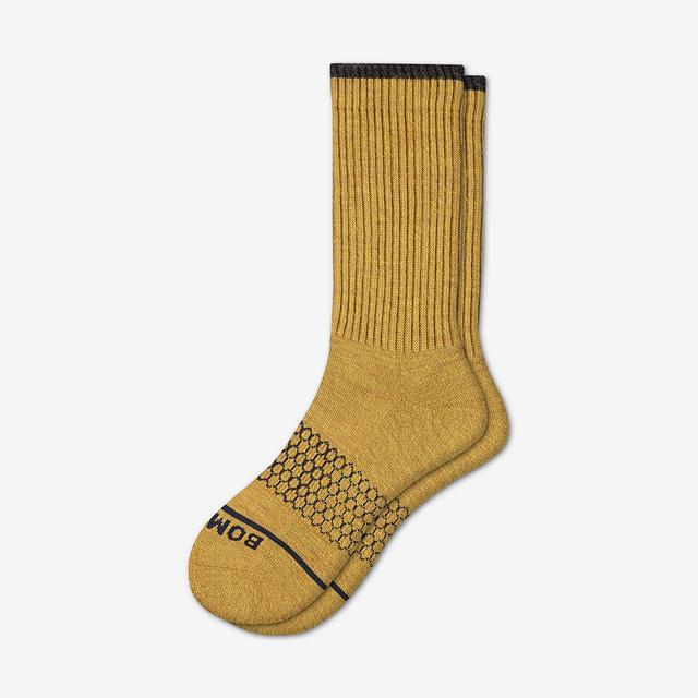 desert-sand Men's Merino Wool Calf Socks