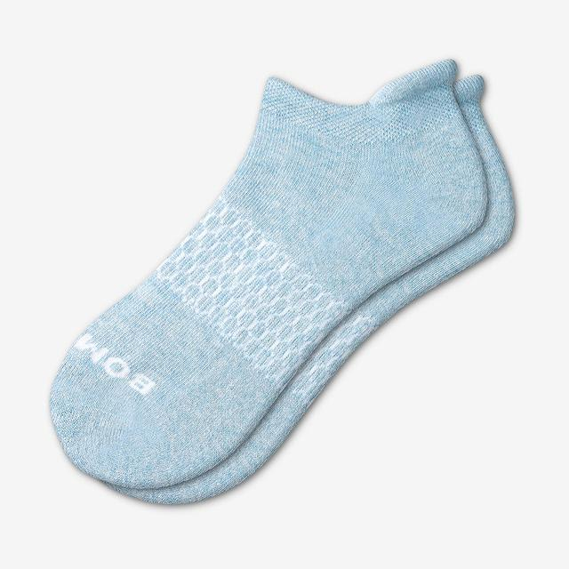 dusty-blue Women's Solids Ankle Socks