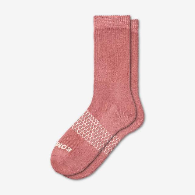 dusty-pink Men's Solids Calf