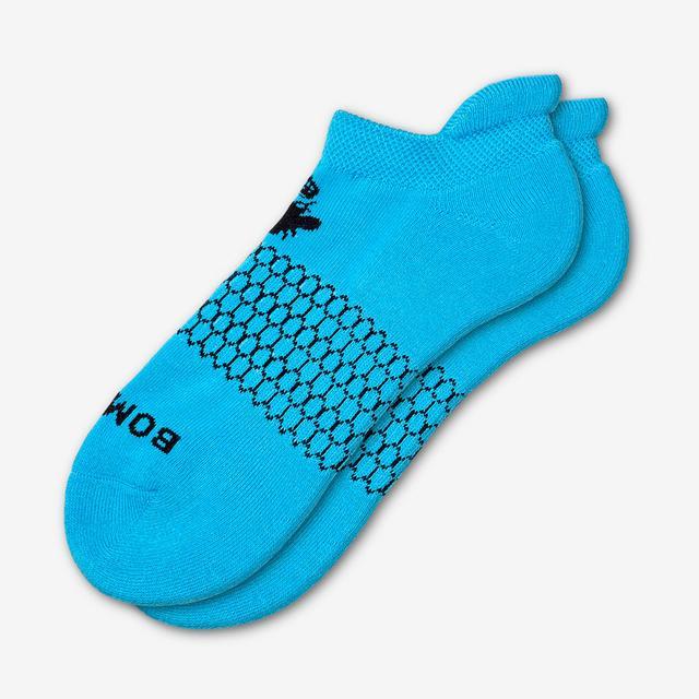 electric-blue Men's Solids Ankle