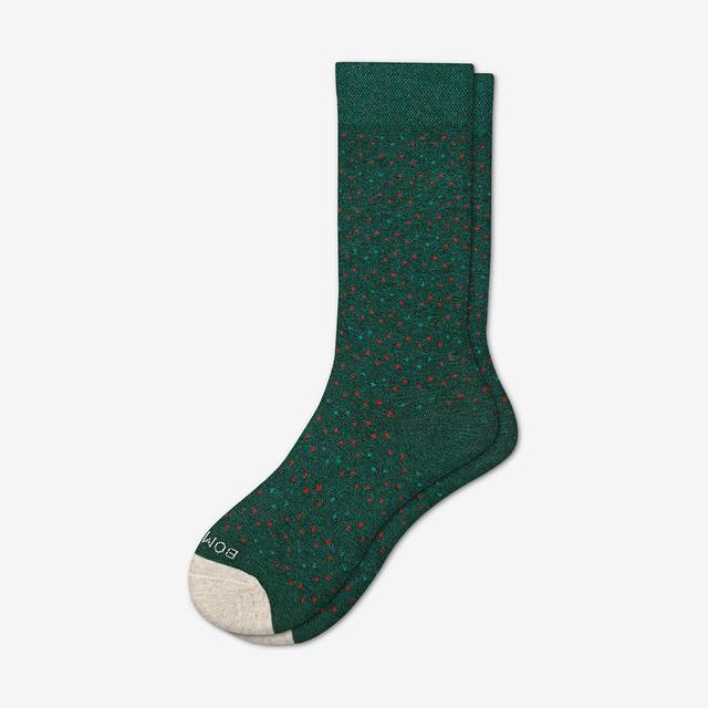 evergreen-dot Women's Lightweight Crew Sock