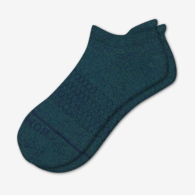 evergreen-navy Men's Merino Wool Ankle Socks