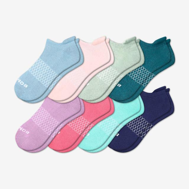 fall-mix Women's Solids Ankle 8-Pack