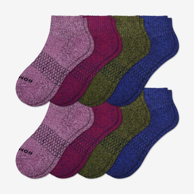 fall-mix Women's Quarter Sock 8-Pack