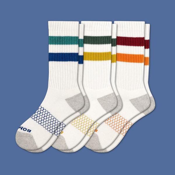 1b05b7cb4e Men's Vintage Stripe Calf Sock 3-Pack