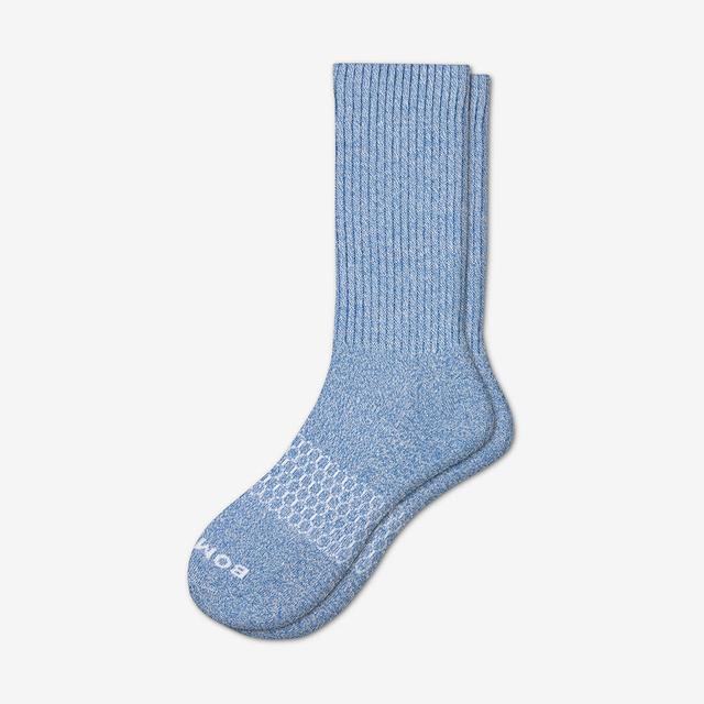 fern-blue Men's Classic Marls Calf Sock