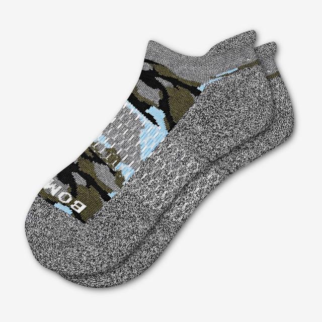 green Women's Camo Ankle Socks
