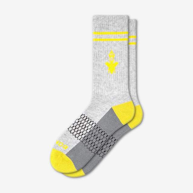 grey-and-canary-yellow Men's Originals Calf